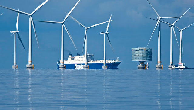 Grandes posibilidades de la industria marítima en el sector de energías