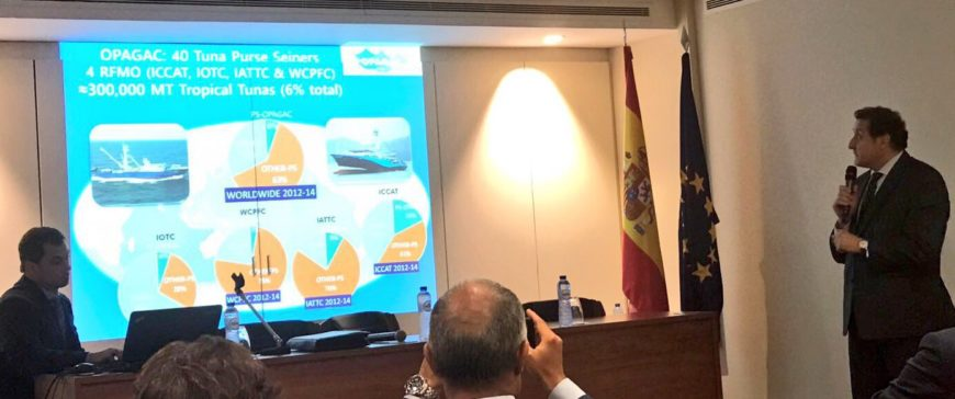 La flota atunera muestra sistemas tecnológicos para la sostenibilidad de especies