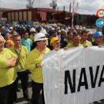 El astillero La Naval presenta un ERE de extinción a sus 177 trabajadores