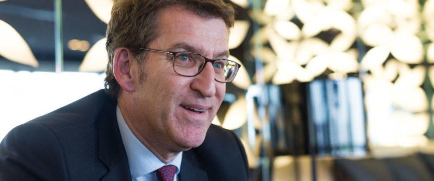 Feijoo pide un 1 % del presupuesto europeo para inversiones costeras