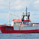 El pesquero portugués retenido en Lorient capturó más especies prohibidas