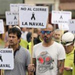 El cierre de La Naval pondría en la picota a 30 empresas vascas