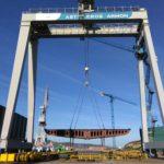 Nueva Pescanova construye su primer barco en Armón