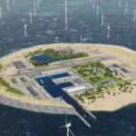 La isla artificial eólica del Mar del Norte costaría 1500 millones de euros