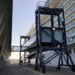 Innovadora pasarela de cruceros en la terminal de Bilbao