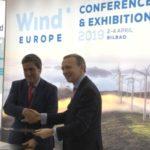 Bilbao recibe el testigo de la Wind Europe a celebrar en el 2019