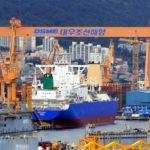 Corea del Sur recupera el liderazgo en la construcción de barcos
