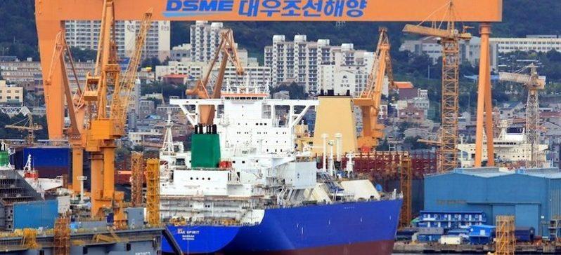Astilleros surcoreanos poseen la mayor cantidad de encargos de construcción