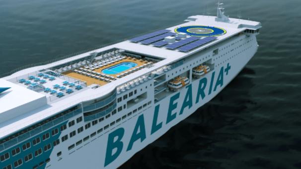 Balearia mantiene el contrato del ferri encargado a la La Naval de Sestao