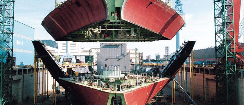 China es el líder de la industria naval