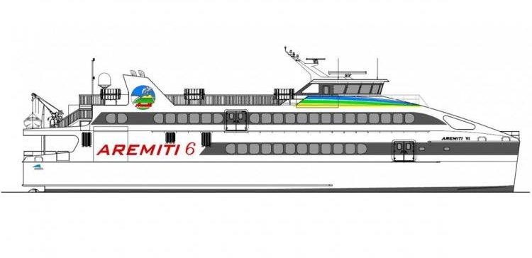 Austal construirá un nuevo ferry rápido para la Polinesia