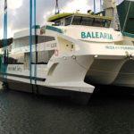 Astilleros Gondán bota el cuarto de los eco fast ferries de Balearia