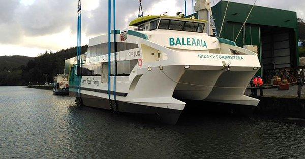 Astilleros gond n bota el cuarto de los eco fast ferries for Cuarto de zanty ferry