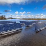 Holanda construye la primera planta flotante de energía solar