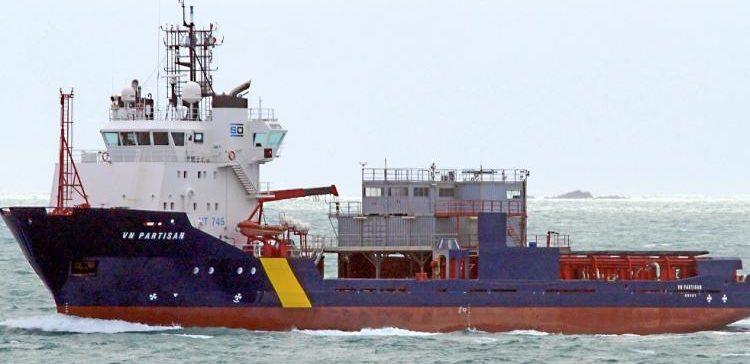 El `Partisan´ llevará labores de lucha contra la contaminación desde Vigo a Le Havre