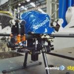 Gran éxito de los drones de inspección de tanques de carga de Navantia