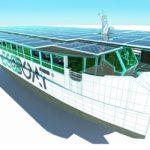 Ribera inaugura un catamarán electrosolar