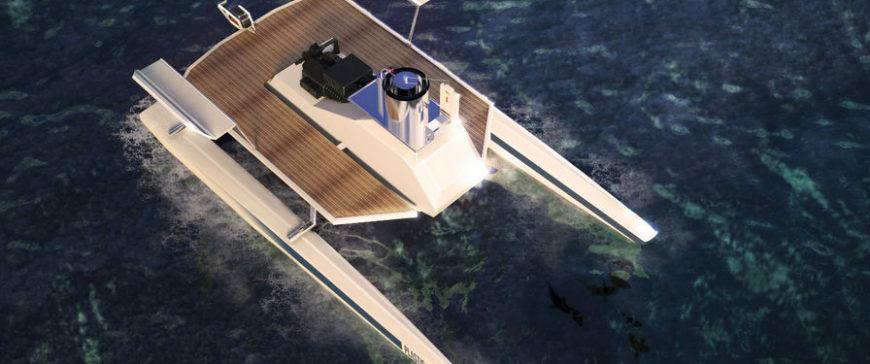 Una embarcación eliminara los plásticos en el mar