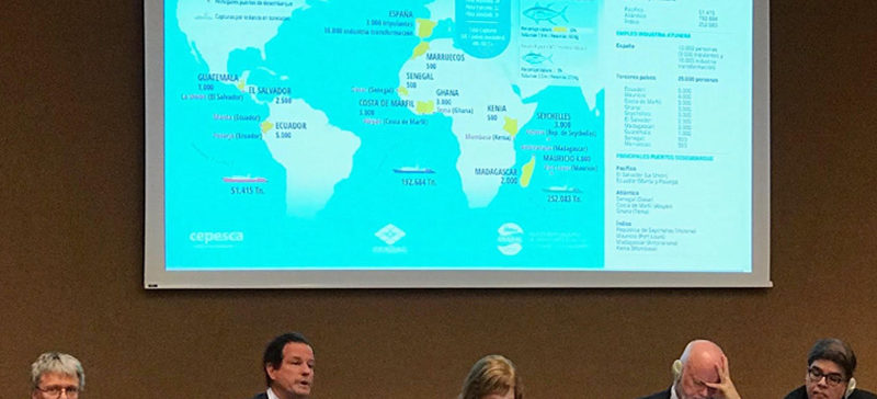 Cepesca expone en Ginebra el impacto de la pesca en sociedad y economía
