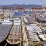 Astilleros surcoreanos piden mantener precios del acero a la industria