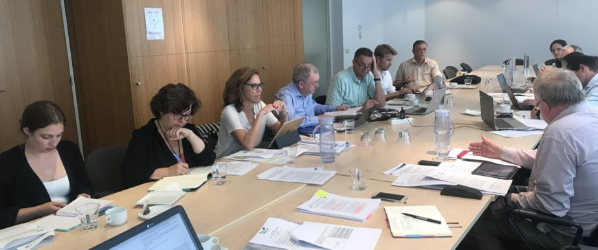 Reunión para abordar la revisión de los Reglamentos de Control Pesquero