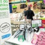 Eroski incrementa un 24% las compras de pescado sostenible con un 1 millón de kilos