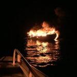 Los tripulantes del Roymar siguieron todos los pasos de salvamento para salir indemnes