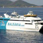 Baleària inaugura su primer 'smart ship' propulsado a gas entre Barcelona y Palma