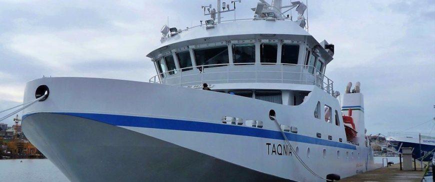 El buque oceanográfico Taqnia, construido por Freire,  zarpa para Arabia Saudi