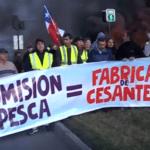 Pescadores chilenos protestan de forma violenta contra la Ley de Pesca