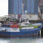 El palangrero Viriato Primero apresado por decisión del tribunal de Lorient