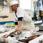 Los establecimientos deberán comercializar productos de la pesca y acuicultura debidamente marcados o etiquetados