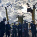 Canarias presenta la primera plataforma eólica flotante de dos turbinas de la industria eólica española