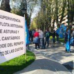 Pescadores asturianos y gallegos seguirán sus movilizaciones contra el reparto de caballa