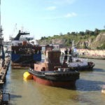 Astilleros Murueta bota el primer remolcador de propulsión dual del Estado