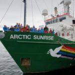 Moscú pagará a Greepeace por una detención ilegal de uno de sus buques