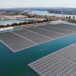 Crece la instalación de plantas de energía fotovoltáica en la superficie del mar