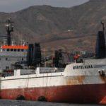 El carguero Montelaura choca contra un pesquero provocando 11 desaparecidos