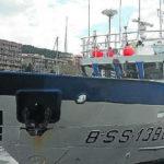 El Ortze, el primer buque eléctrico vasco, renueva su sala de máquinas
