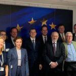 El sector pesquero europeo presentan al comisario sus reivindicaciones y desafíos