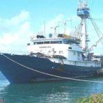 El barco Albacora Seis se hunde cerca de Costa de Marfil y recuperados sus tripulantes