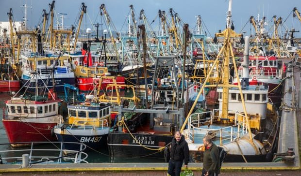 Pescadores británicos aprecian que el Coronavirus va a provocar un shock severo a sus ventas