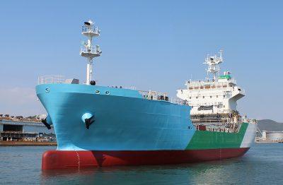 El primer buque LNG ha sido lanzado por un astillero de Japón