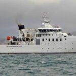El buque oceanográfico Bélgica está ya en fase de pruebas