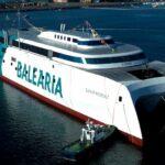 Balearia incorporará en marzo el primer 'fast ferry' del mundo con motores duales a gas